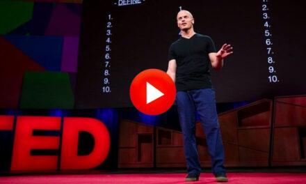 Charla TED: Por qué deberías definir tus miedos en lugar de tus metas