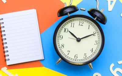 La falta de horarios establecidos es una maldición, no una bendición.