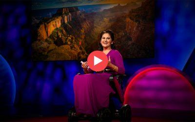 Charla TED: El hermoso equilibrio entre el coraje y el miedo